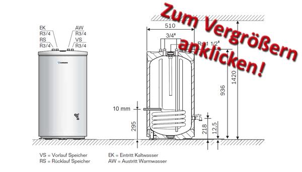 junkers wassererw rmer st120 5 z ebay. Black Bedroom Furniture Sets. Home Design Ideas