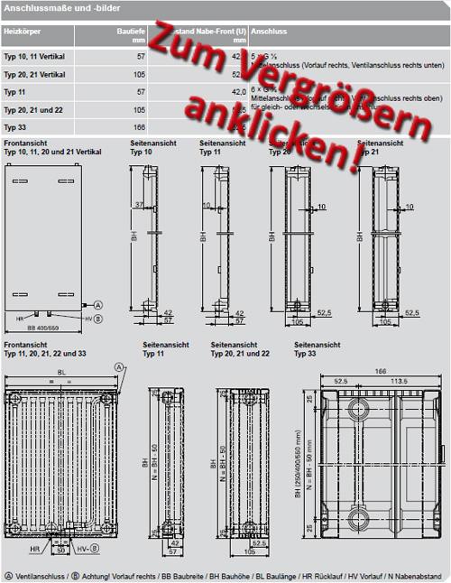 heizk rper typ 22 ma e sm66 hitoiro. Black Bedroom Furniture Sets. Home Design Ideas