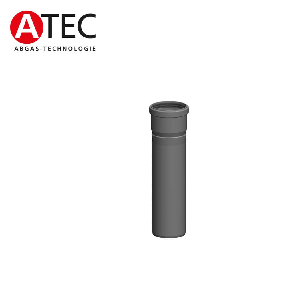 Atec Abgas 2319 955 Mm Rohr Kurzbar Dn100 Abgassysteme