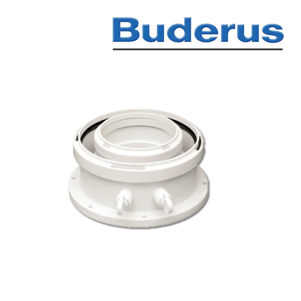 Buderus Kesselanschluss-Stück, DN80/125 (Abgassysteme) - Heizung und ...