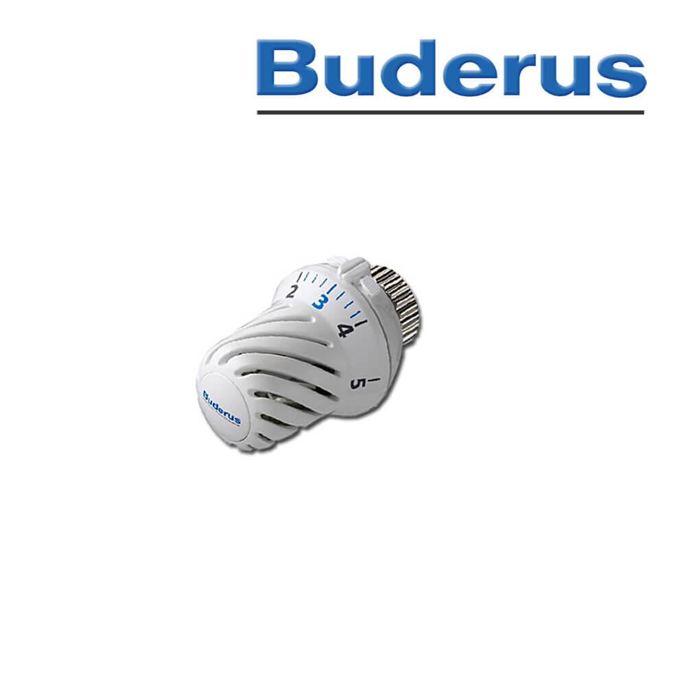 buderus logafix thermostatkopf bd f mit fernf hler und nullstellung heizk rper heizung und. Black Bedroom Furniture Sets. Home Design Ideas