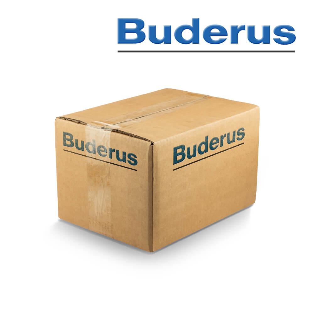 Buderus Abgassystem Abgasrohr DN80//125 konzentrisches Rohr 450 mm 950 mm DN80//125 x 1950 mm 1950 mm