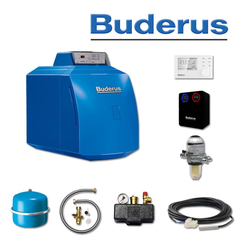 Buderus GB125-30, K33 S, Öl-Brennwertkessel, RC310, RK 1 (HS 25) (Öl ...