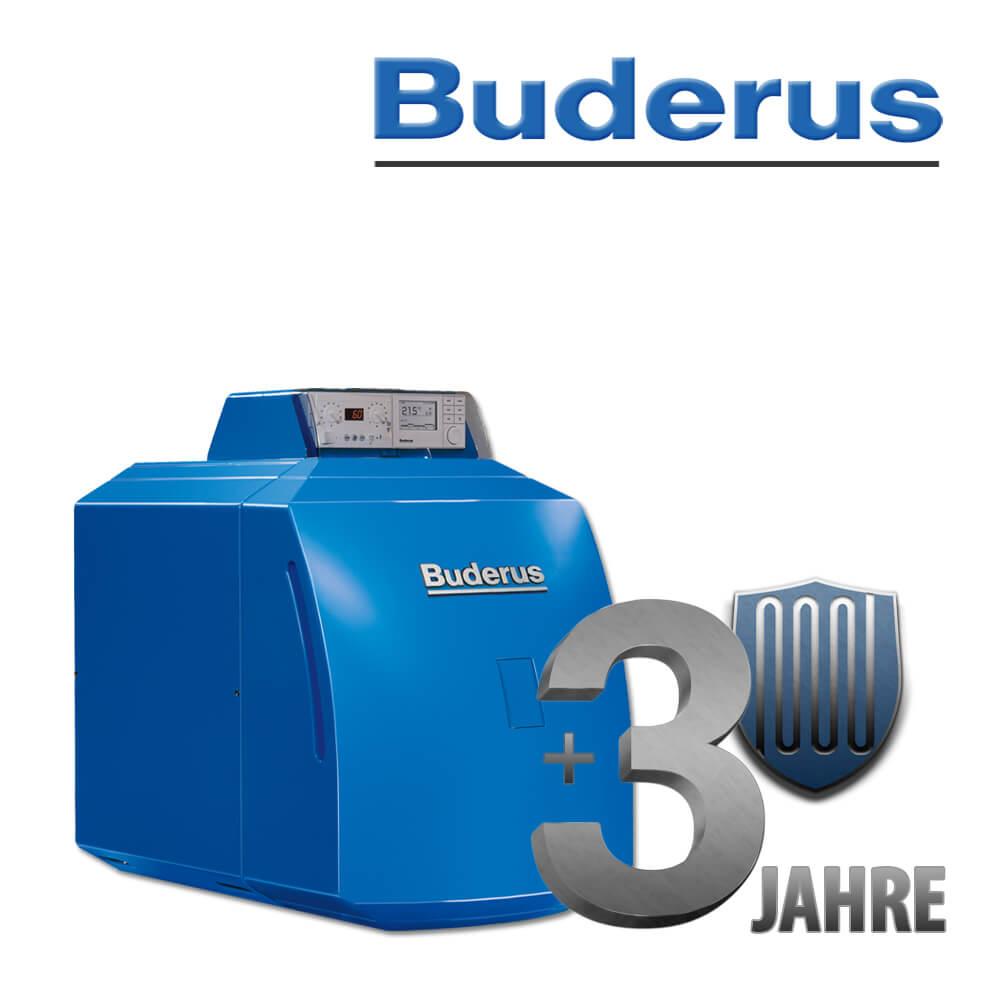 3 Jahre Anschlussgarantie für Buderus GB125 Ölkessel, Öl ...