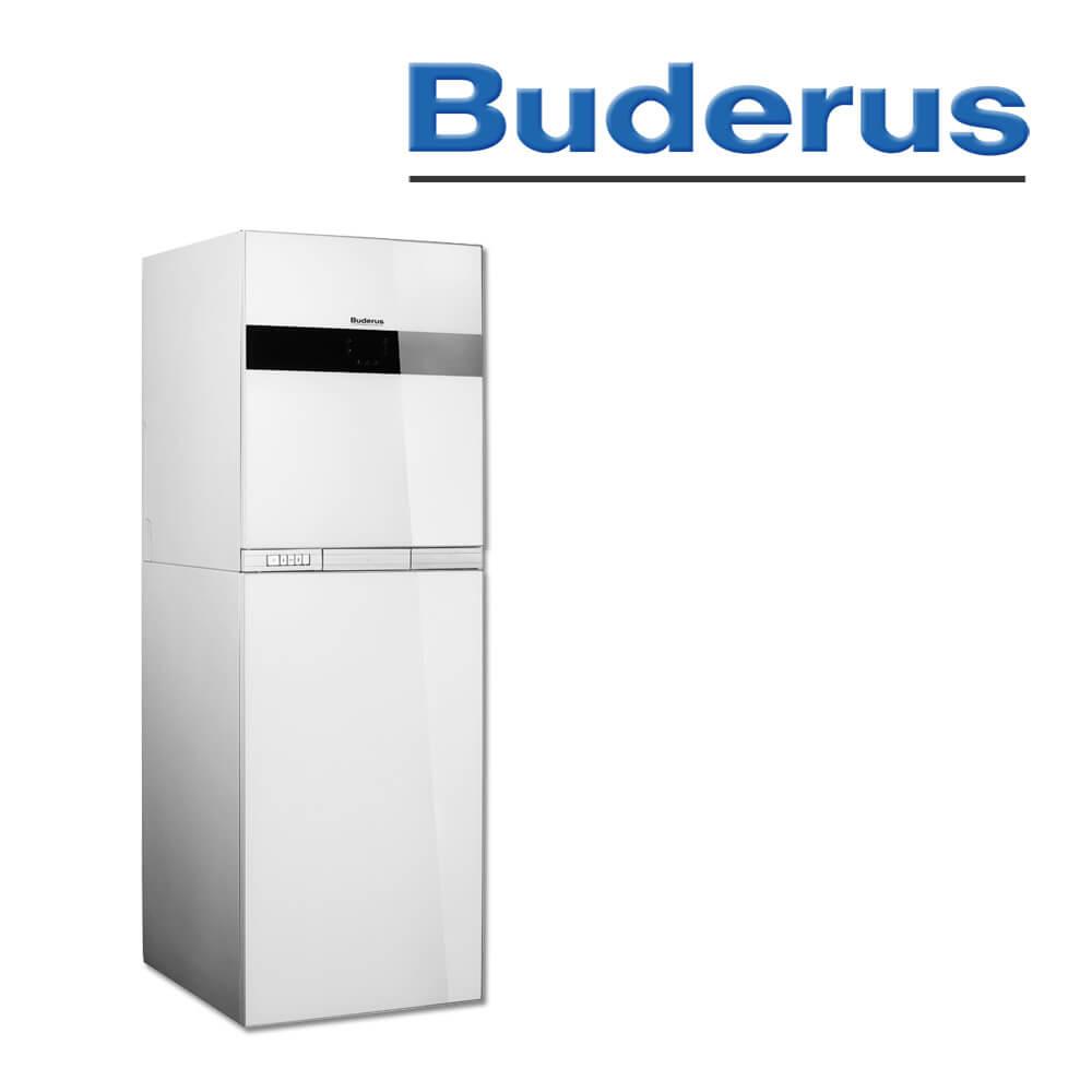 Buderus GB192-15iT 150S, 15kW, Logamax plus Brennwertherme, weiß ...