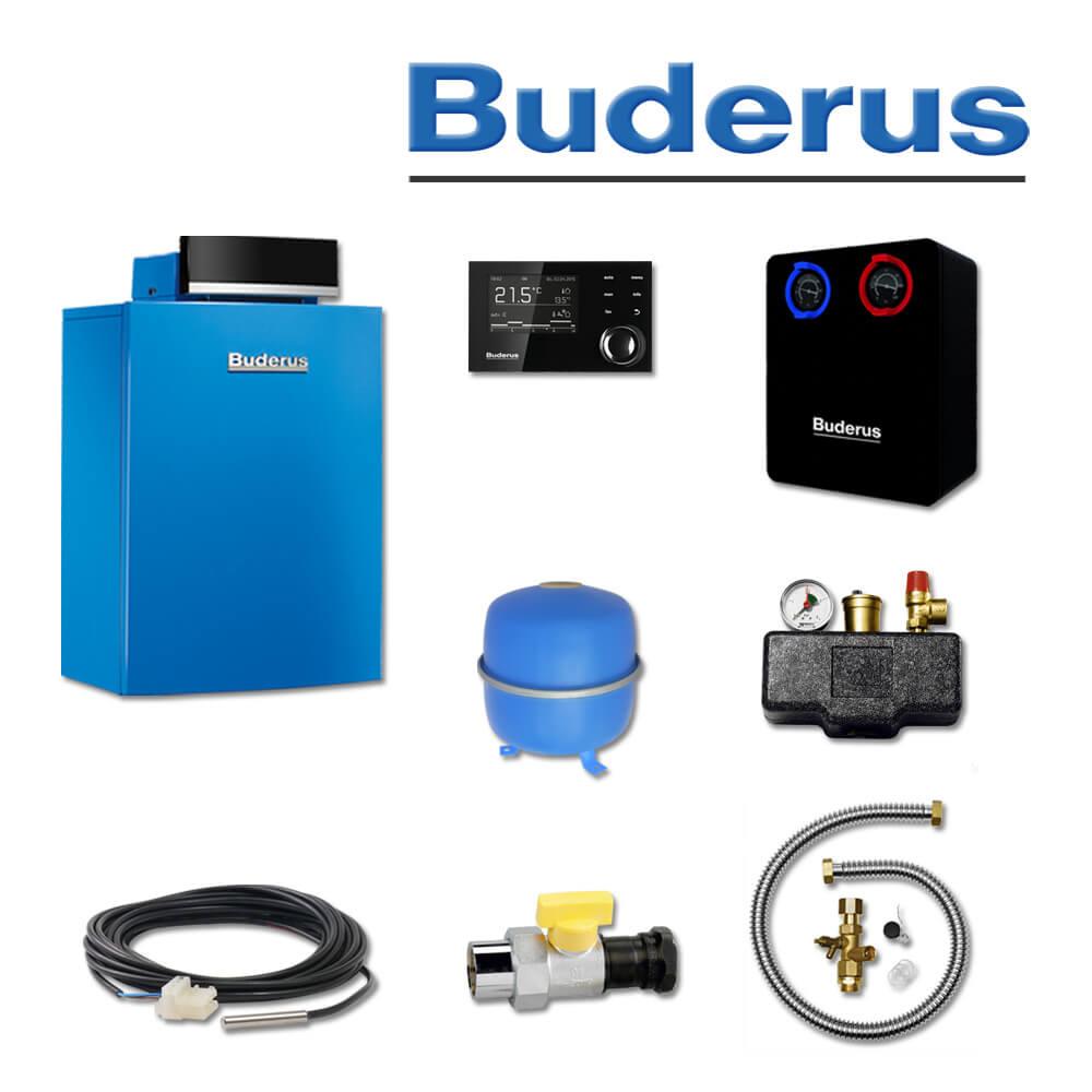 Buderus GB212-15, K60S, Gas-Brennwertkessel, RC310, HS25, E/H (Gas ...