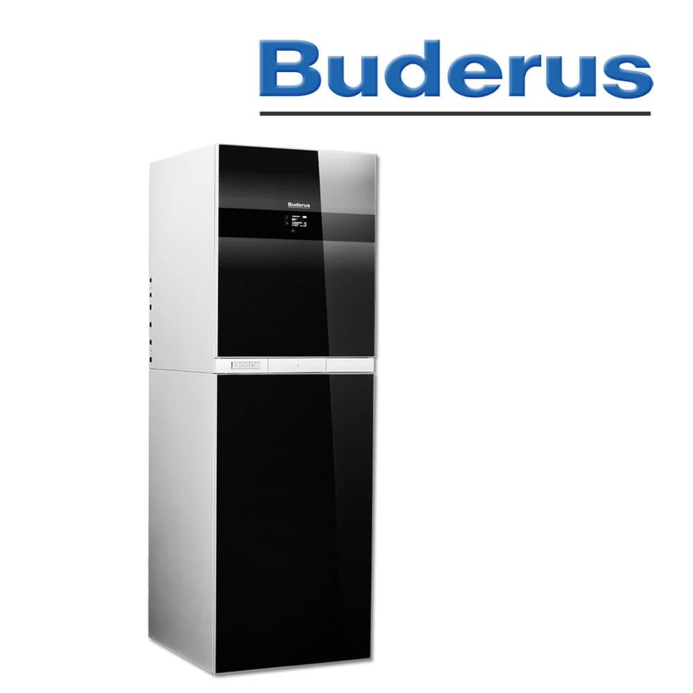 Gas-Heizung Brennwert,Buderus,GBH192iT 25 kW - Heizung und Solar zu ...