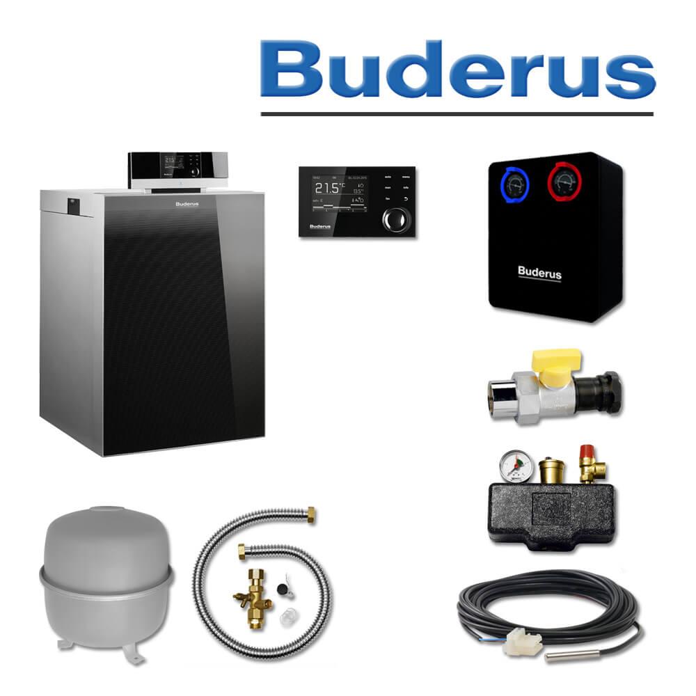 Buderus KB192i-22, K76S, Gas-Brennwertkessel, Gaskessel, RC310, HS25 ...