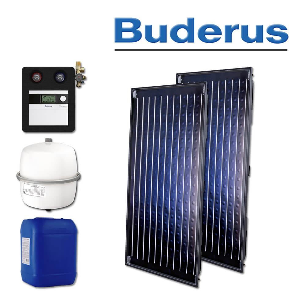 Solartechnik Solaranlagen Warmwasser Buderus Skn4 0 S Heizung Und