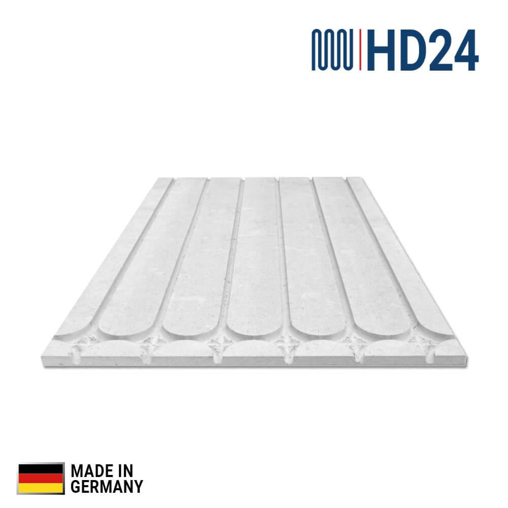 0 62m hd24 fu bodenheizung trocken estrich strukturplatte f r heizrohr 12x1 3mm. Black Bedroom Furniture Sets. Home Design Ideas