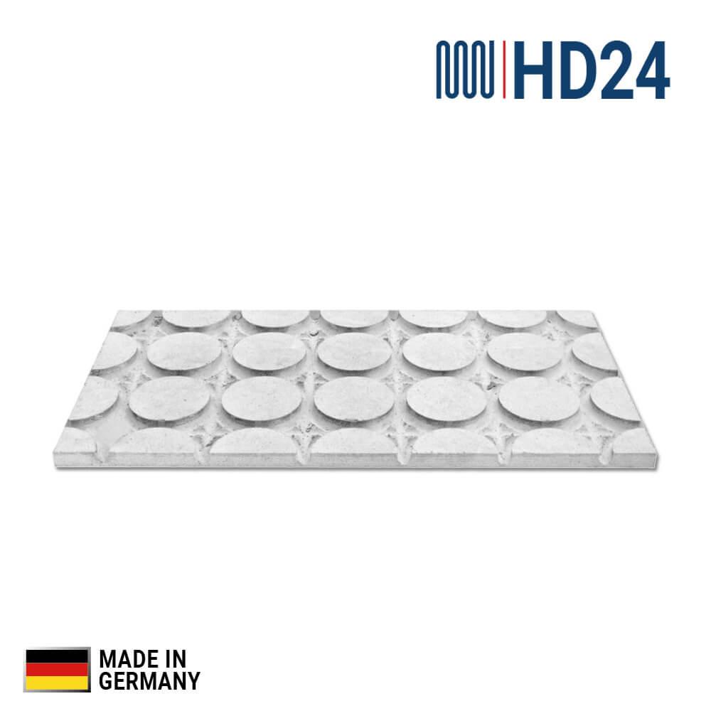 0 19m hd24 fu bodenheizung trocken estrich kopfplatte f r. Black Bedroom Furniture Sets. Home Design Ideas