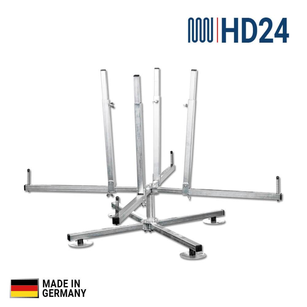 hd24 fußbodenheizung profi-heizrohr-abroller, für rohr Ø = 14 - 20mm