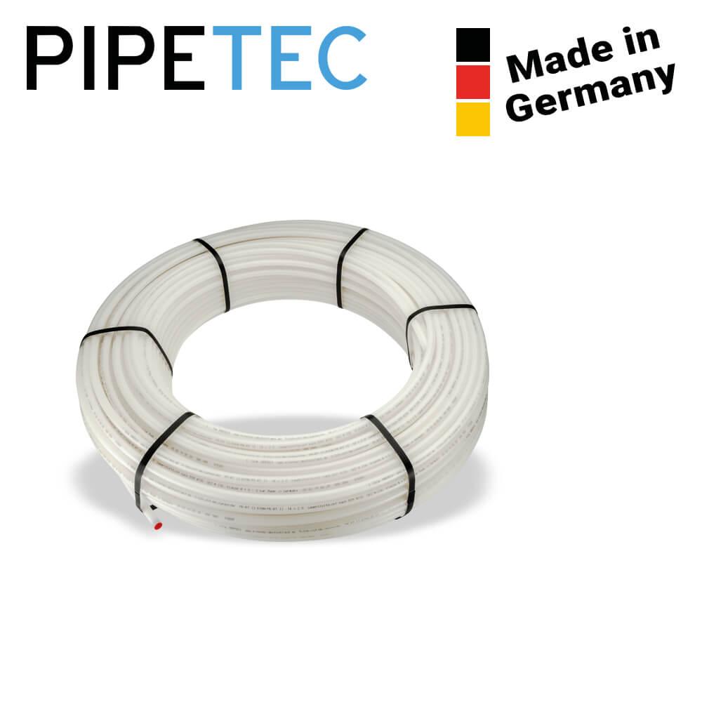 HR1420200 200m Pipetec PE-RT Heizrohr 14x2 Rohr Fußbodenheizung 5-Schichten