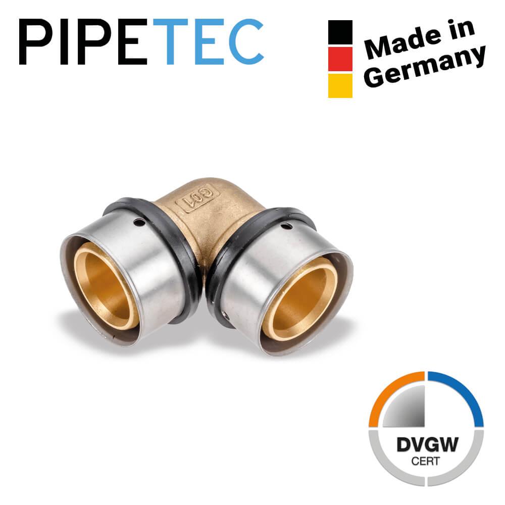 Press Winkel 90° PPSU DVGW zertifiziert Kontur TH