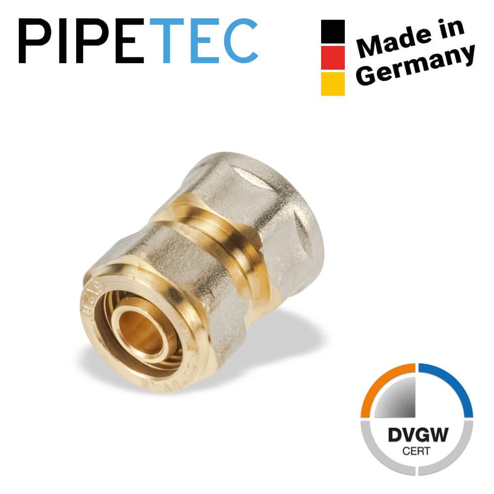 System-Schraubfitting Pressfitting Verbundrohr DVGW Winkel T-Stück Übergang