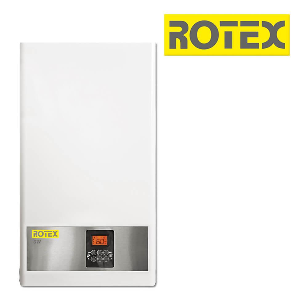 rotex gw 22t 22 kw gas brennwerttherme gastherme gas heizung heizung und solar zu. Black Bedroom Furniture Sets. Home Design Ideas