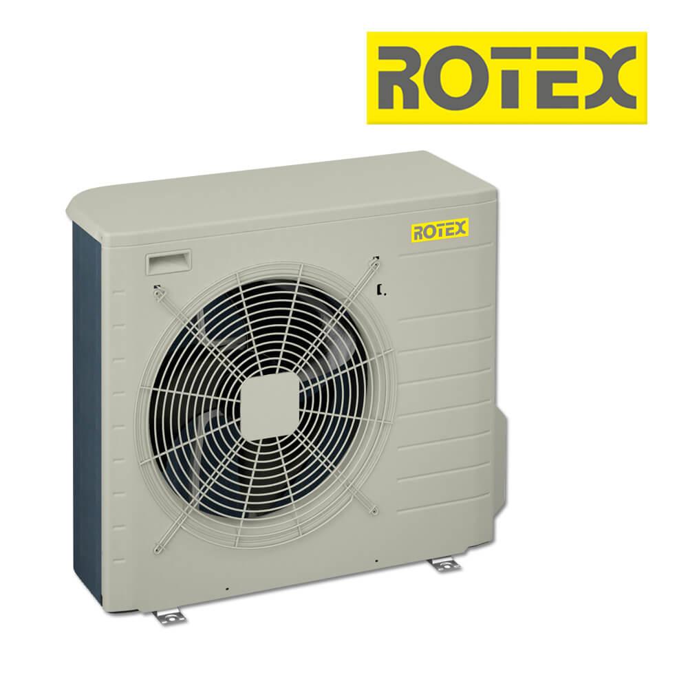 Rotex HPSU compact / Bi-Bloc Luft-/Wasser-Wärmepumpe, 4 kW ...