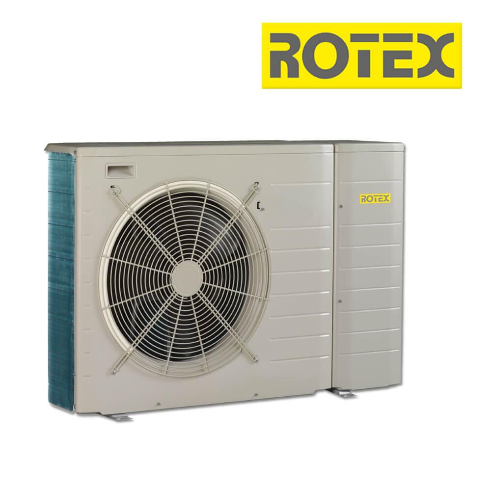 Rotex HPSU monobloc Luft-/Wasser-Wärmepumpe, 5 kW H 1~230 V (Heizen ...