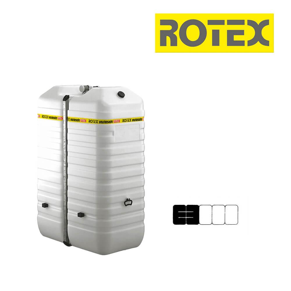Rotex Oltank Paket Vsf 152 3000 Liter Mit 2x Heizoltank Vsf 1500