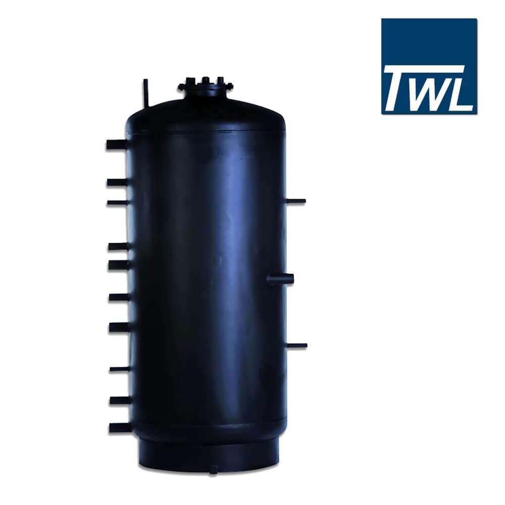 200 Liter TWL Puffer, Pufferspeicher Typ PR 200 mit Wärmetauscher ...