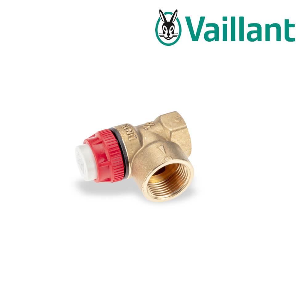 Sehr Vaillant Sicherheitsventil Rp 1/2 bis 3,0 bar (Zubehör) - Heizung RM72