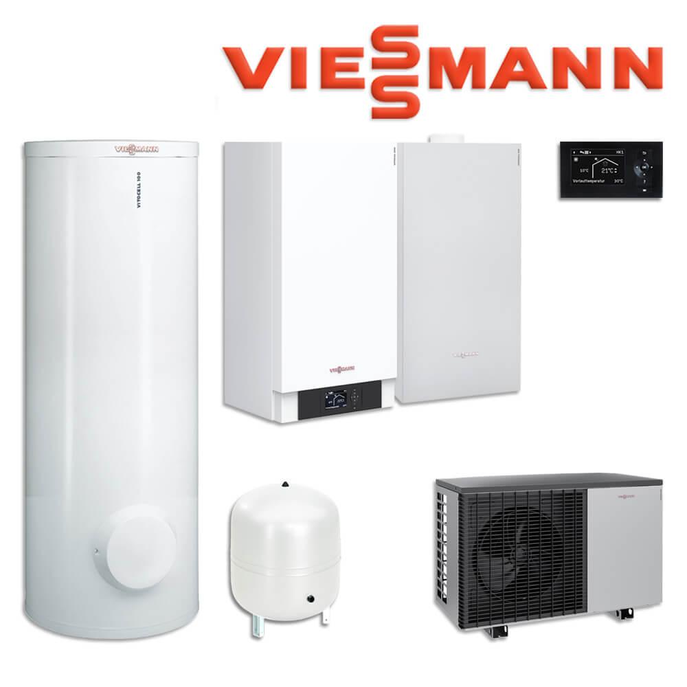 viessmann vitocal 200 s w rmepumpe 9 5 kw z016961 300 l vitocell 100 w cvaa w rmepumpen. Black Bedroom Furniture Sets. Home Design Ideas