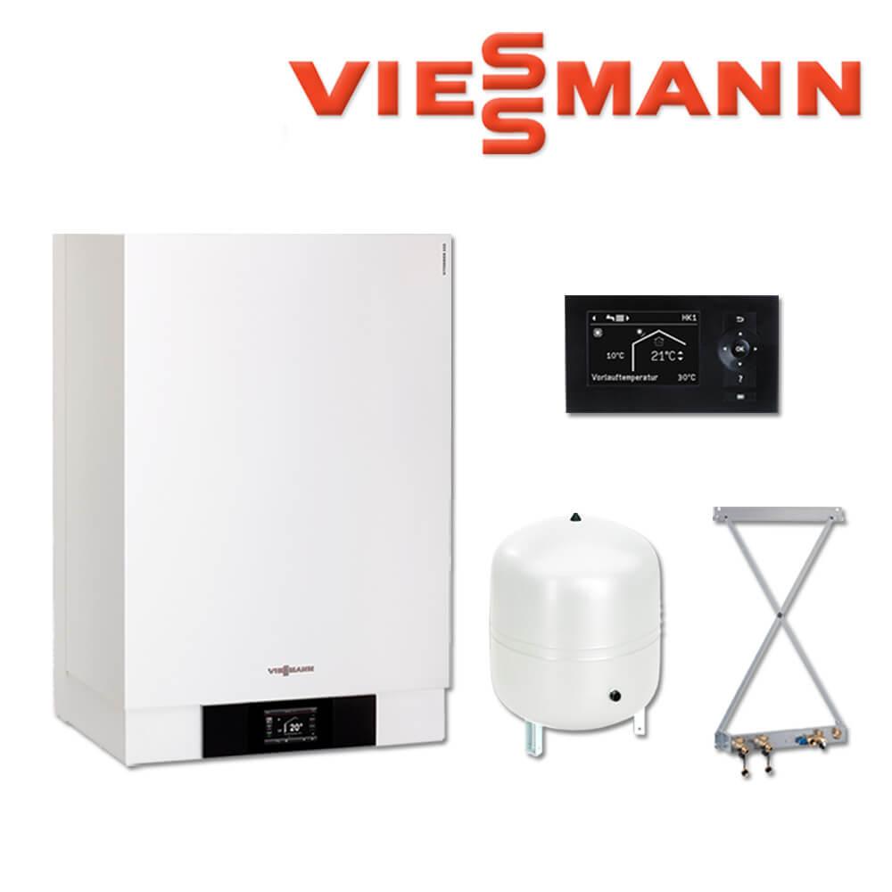 Viessmann Vitodens 222-W Brennwerttherme, 26 kW, B2LB029, VT 200 ...