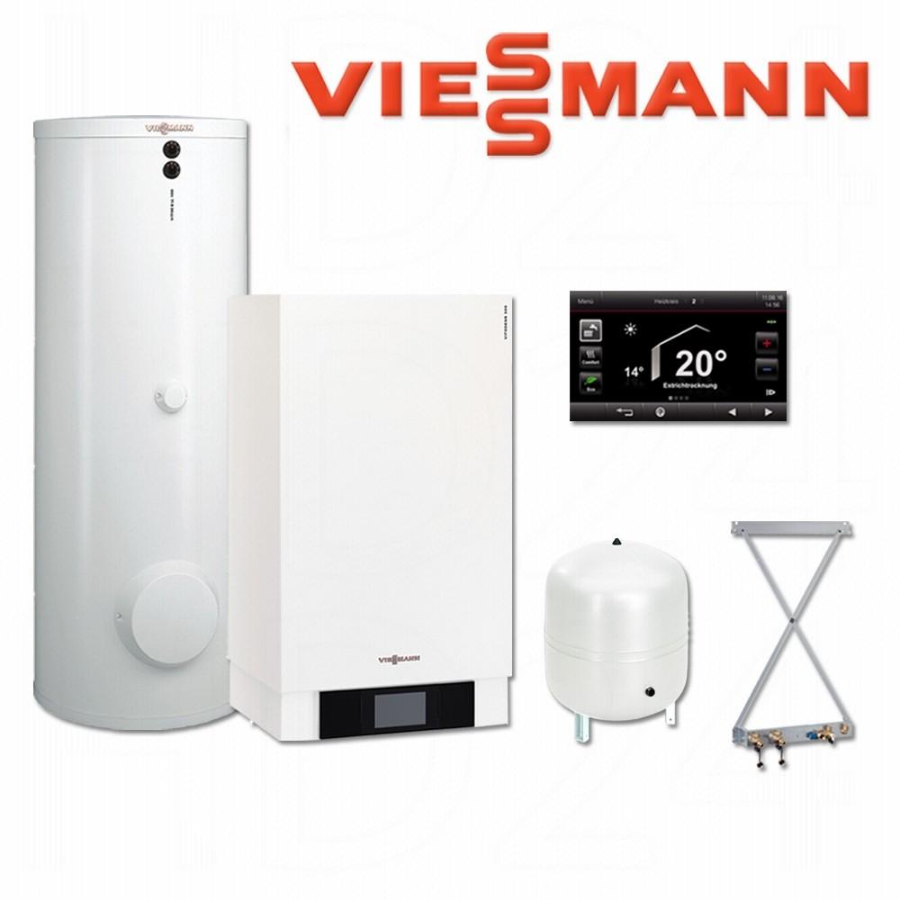 viessmann vitodens 300 w gastherme 11 kw b3hb041 300 l. Black Bedroom Furniture Sets. Home Design Ideas