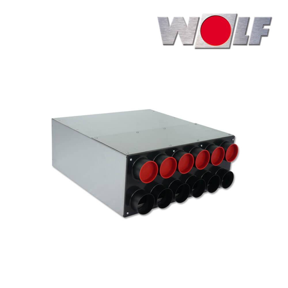 wolf cwl luftverteiler f r zu oder abluft dn160 63 52. Black Bedroom Furniture Sets. Home Design Ideas