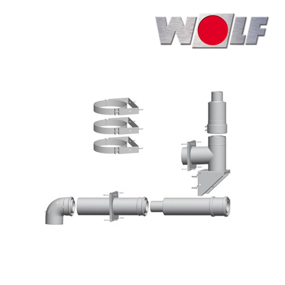 Wolf Paket Fur Abgasleitung An Der Fassade Aussenwand Dn80 125