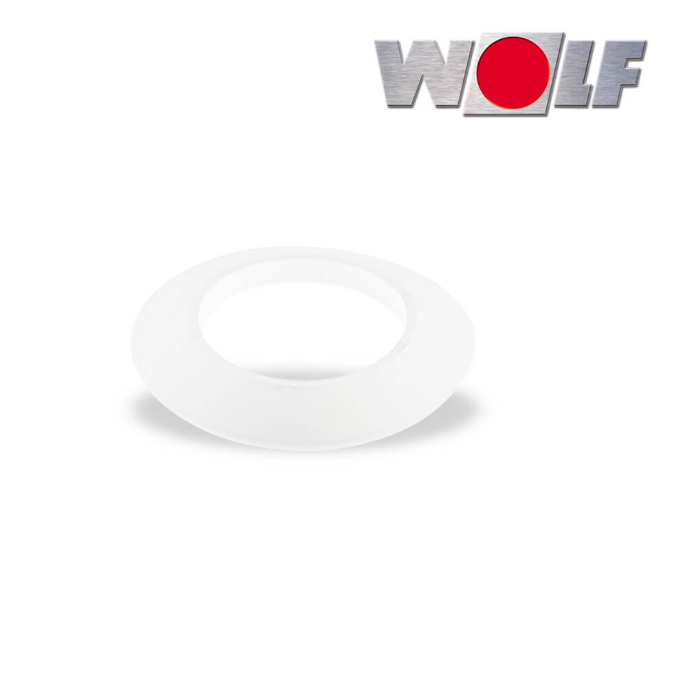 wolf rosette dn100 au enwand f r luft abgasrohr dn60 100. Black Bedroom Furniture Sets. Home Design Ideas