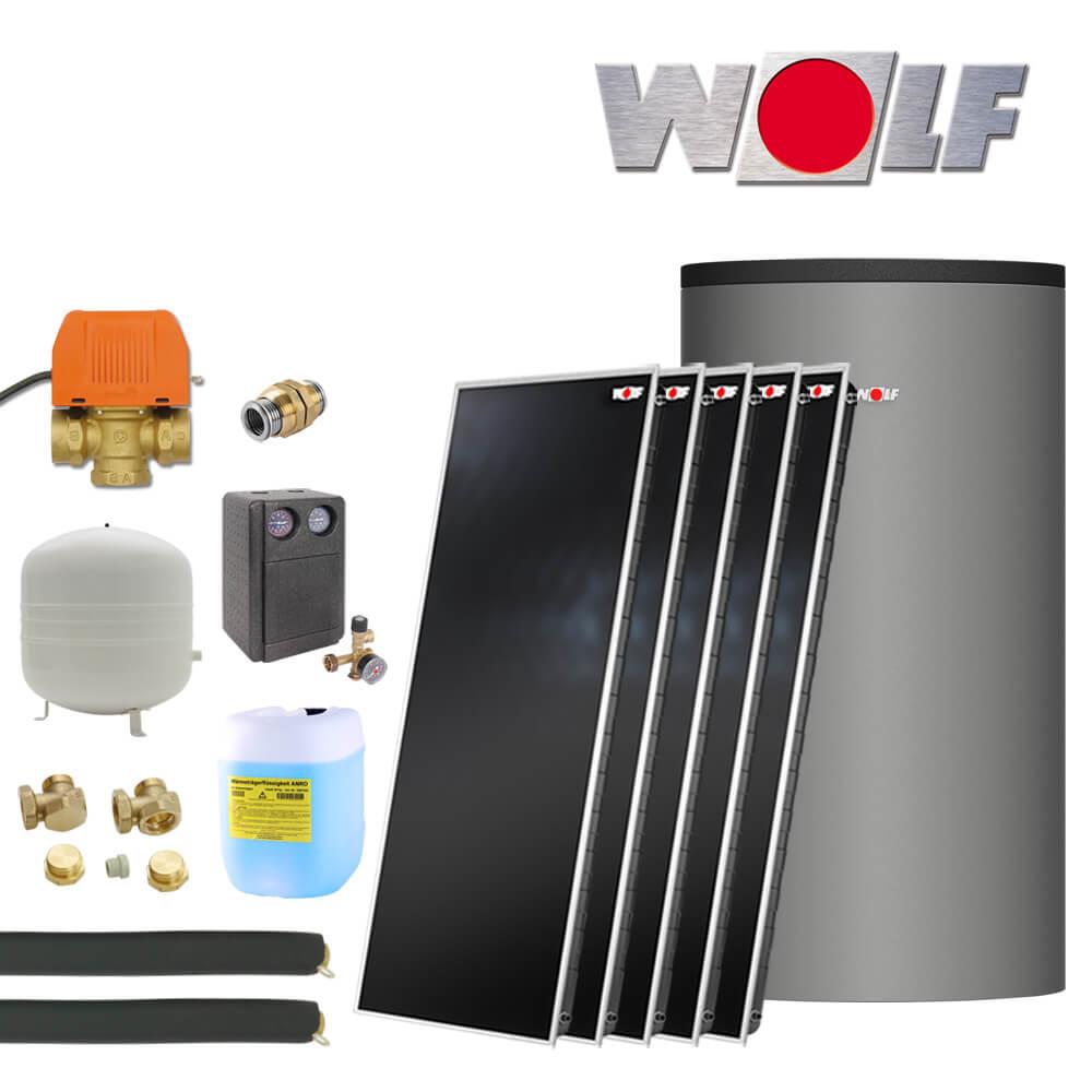 11 5m wolf topson f3 1 sonnenpaket mit 800 liter bsh. Black Bedroom Furniture Sets. Home Design Ideas