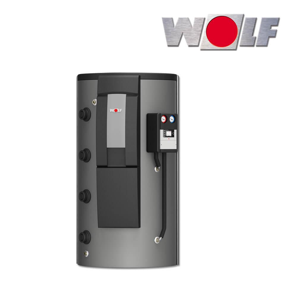 1000 liter wolf schichten pufferspeicher bsp w f r w rmepumpen inklusive zubeh r. Black Bedroom Furniture Sets. Home Design Ideas