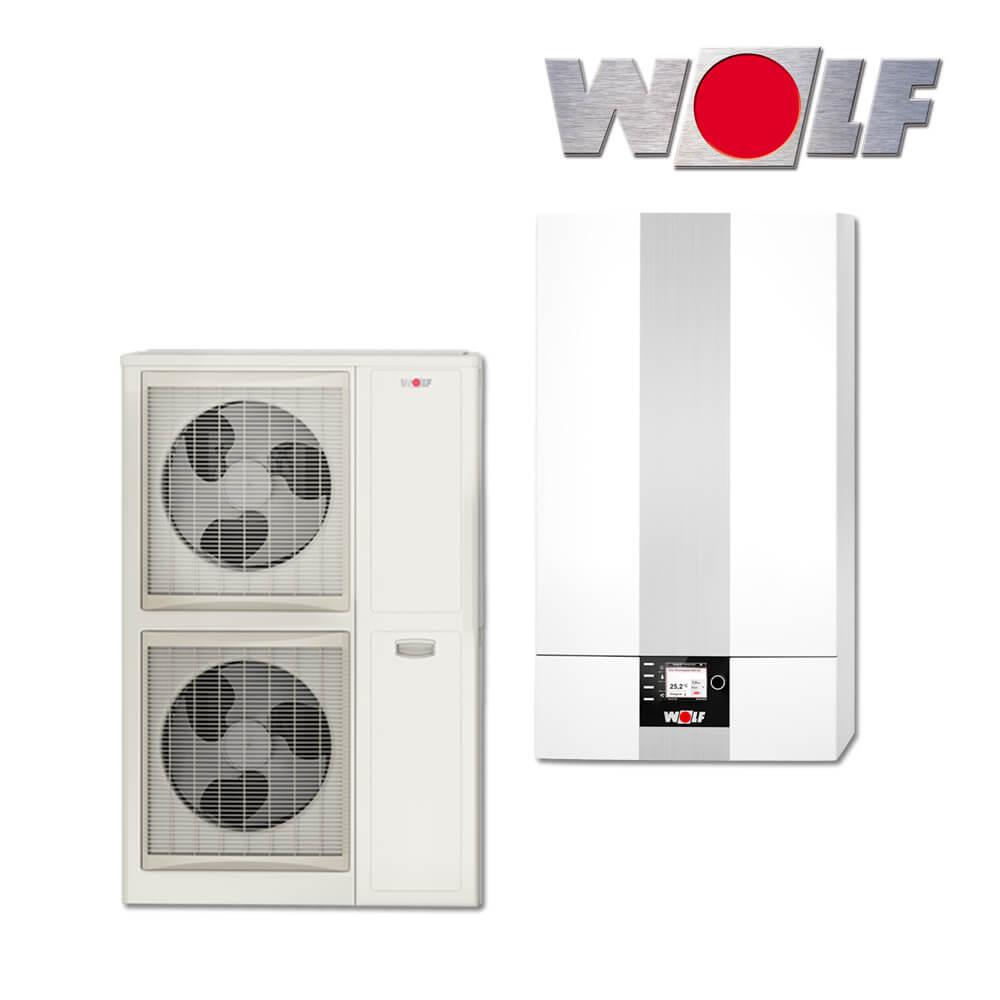 Wolf Bwl 1s 14 Split Luft Wasser Warmepumpe Mit Elektroheizelement