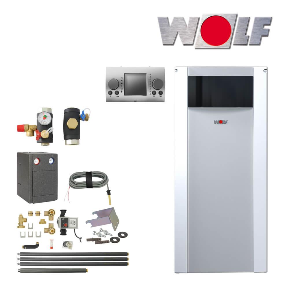 wolf cob 20 20kw l brennwertkessel mit speicheranschluss heizkreis l heizung heizung und