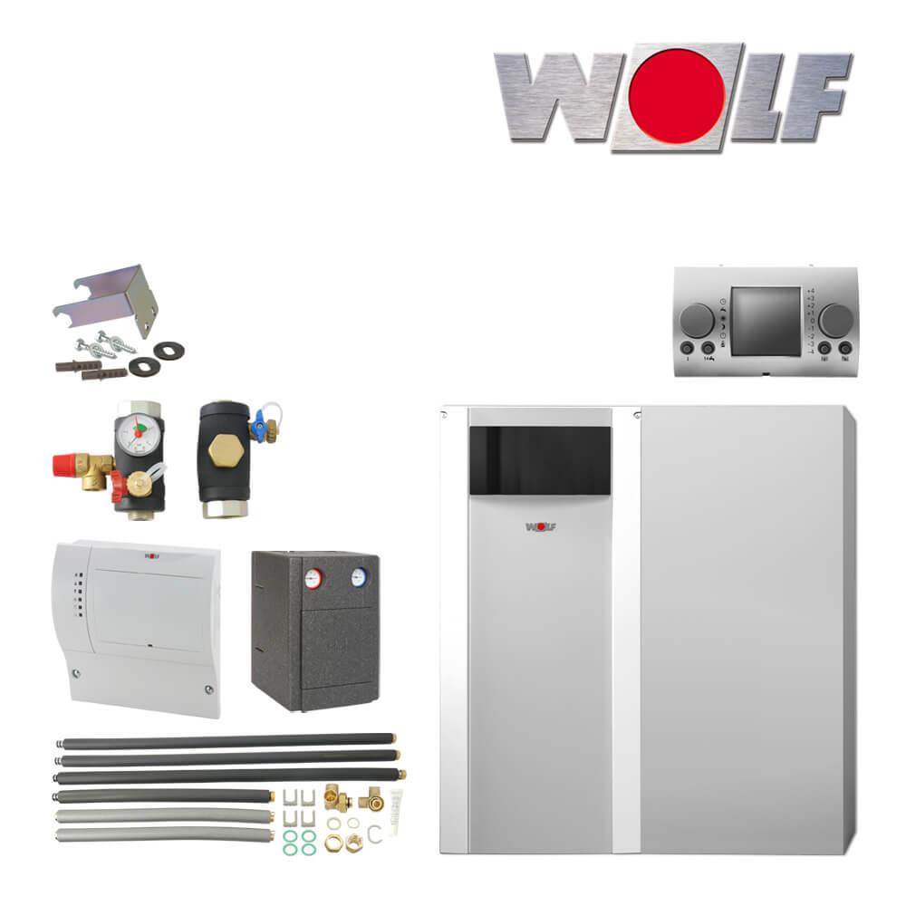wolf cob 20 20kw l brennwertkessel mit speicher cob ts mischer l heizung heizung und. Black Bedroom Furniture Sets. Home Design Ideas