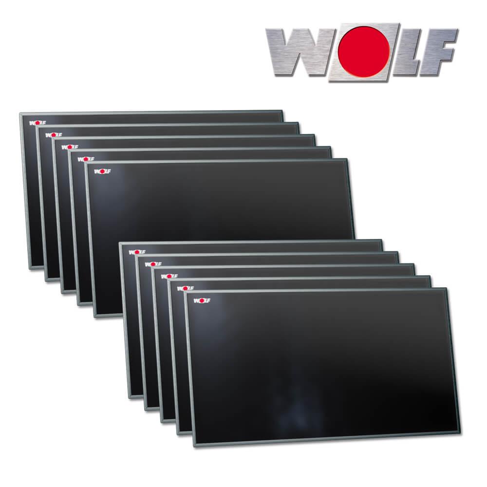 10x wolf hochleistungs sonnenkollektor topson f3 q quer. Black Bedroom Furniture Sets. Home Design Ideas