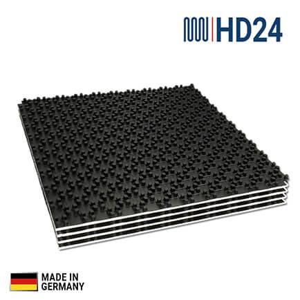 20m hd24 fu bodenheizung noppenplatten mit eps d mmung 11 deo dh 11mm fussbodenheizung. Black Bedroom Furniture Sets. Home Design Ideas