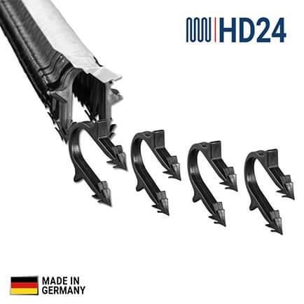 hd24 fu bodenheizung heizrohrclips tackernadeln f r. Black Bedroom Furniture Sets. Home Design Ideas