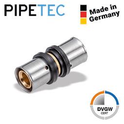 Pressfitting Kupplung Aluverbundrohr Mehrschichtverbundrohr DVGW 16 20 26 32 TH