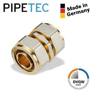 """DVGW Schraubfitting Pipetec Schraub-Übergang Außengewinde 26x3-1/"""" SFUA2606"""