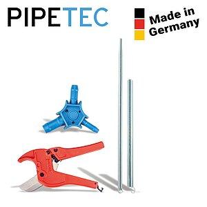 Pipetec Montage-Werkzeug-Set 26x3 mm Rohrschere Kalibrierer Biegefeder Verbundrohr