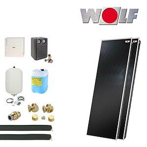 solartechnik solaranlagen warmwasser wolf topson f3 1. Black Bedroom Furniture Sets. Home Design Ideas