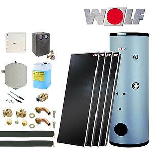 solartechnik solaranlagen warmwasser wolf topson f3 1 heizung und solar zu discountpreisen. Black Bedroom Furniture Sets. Home Design Ideas