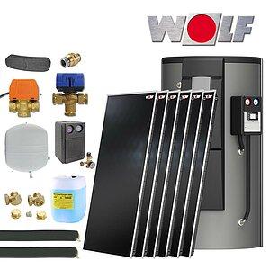 solartechnik wolf solaranlagen heizungsunterst tzung. Black Bedroom Furniture Sets. Home Design Ideas