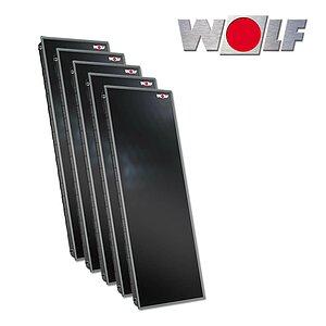 solartechnik flachkollektoren wolf topson f3 1 heizung. Black Bedroom Furniture Sets. Home Design Ideas